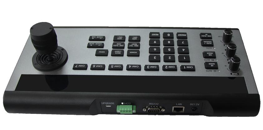 支持sony visca,pelco-d,pelco-p等多种控制协议; 支持rs-485,rs-422